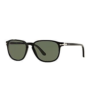 Persol PO3019S 95/31 Black/Crystal Green Sunglasses