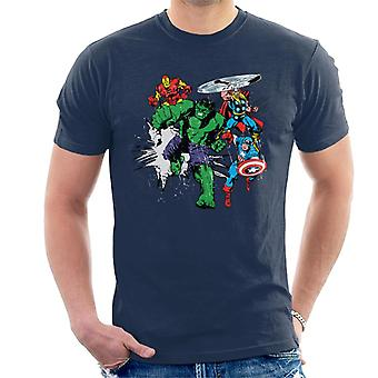 Marvel Avengers Punch Men's T-Shirt
