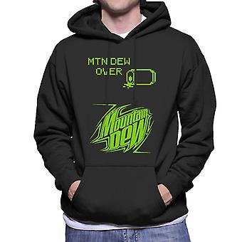 Mountain Dew Retro Arcade Theme Men's Hooded Sweatshirt