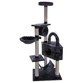 Luckypet Pulls Scratches Park Grey Games Beige Corda Relax Workout 156x60x40