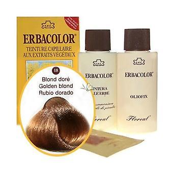 18 Erbacolor golden blonde 120 ml