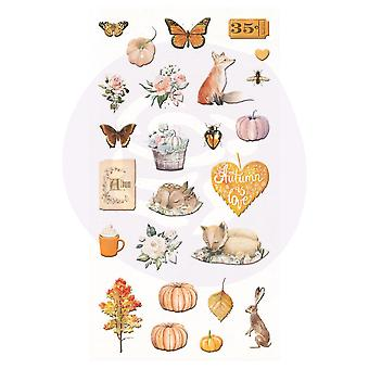 Prima Marketing Automne Sunset Puffy Stickers