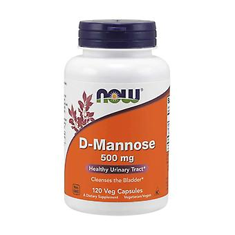 D-Mannose 120 vegetable capsules