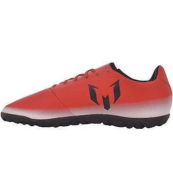 adidas Performance Junior Boys Messi 16.3 Turf Football Boots Trainers - Red