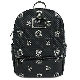 Loungefly Harry Potter Zweinstein Crest Faux Lederen Mini Rugzak