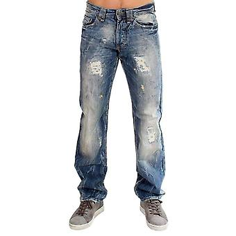 Galliano Blue washed cotton Jeans -- SIG1307269