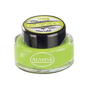 Aladine Calli & Co Blekk Smaragd 15 ml