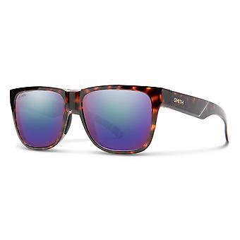 Sonnenbrille Unisex Lowdown 2    dunkel havanna/violett