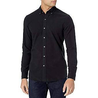 العلامة التجارية -- Goodthreads الرجال & apos & اقتباس قميص أكسفورد الكمال & اقتبس سليم صالح طويل Sle ...