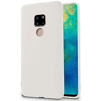 Huawei Mate 20 Mobile Shell Protection Mobile Protection Ultra-Slim Blanc