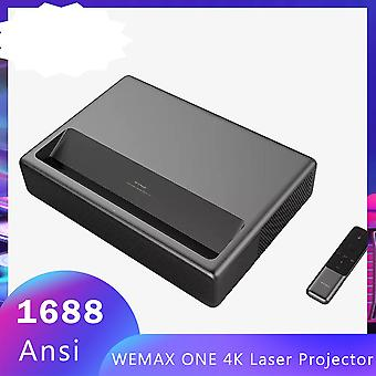 New  Wemax One 4k Laser Projector Tv  1688 Ansi Lumens 150'' 1080p Fhd Android