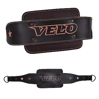 VELO Leather Dip Belt Weight Lifting DP4
