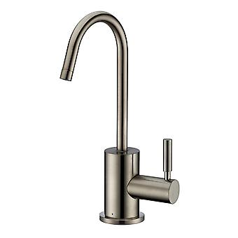 Point Of Use Cold Water Drinking Faucet With Gooseneck Swivel Spout  - Brushed Nickel