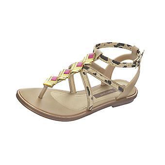 Grendha Glamour Sandal Kids Flip Flops - Sandals - Gold Leopard