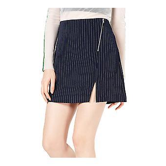 Project 28 | Pinstriped Mini Skirt