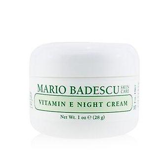 Vitamin E Night Cream - For Dry or  Sensitive Skin Types 29ml or 1oz