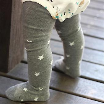 1-6years Baby Infant Stockings Baby Girls Star Print Thin Pantyhose Princess