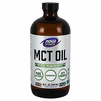 שמן MCT של Now Foods, 16 Oz