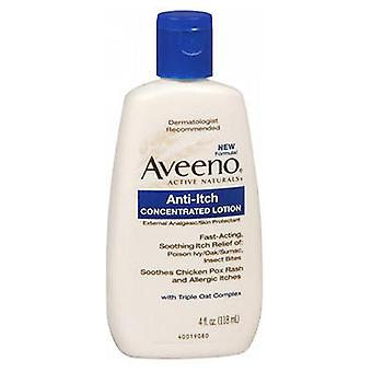 Aveeno Anti-Itch Concentrated محلول، 4 أوقية