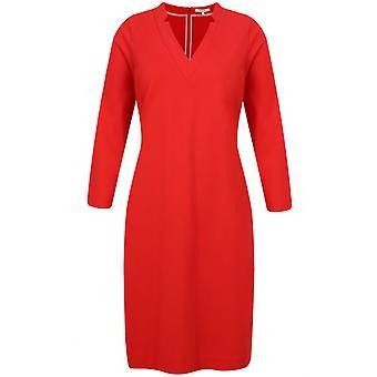 Sandwich Clothing Red Jersey Shift Dress
