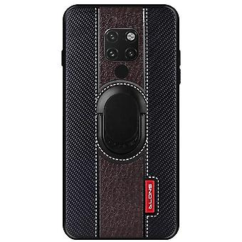 Case with support for Huawei Honor 10 Brown telangxun-27
