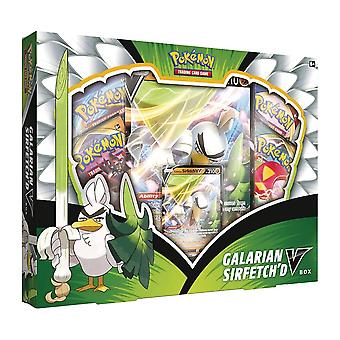 Offizielle Pokemon TCG: Galarian Sirfetch'd V Box