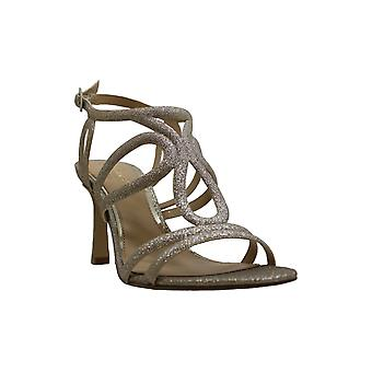 BADGLEY MISCHKA Womens Simba Open Toe Bridal Slingback Sandals