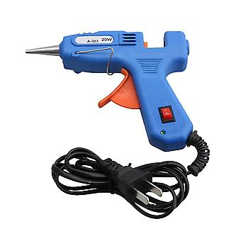 110-240V 20W US Plug Hot Melt Glue Gun Adhesive Crafts for 7mm Sticks
