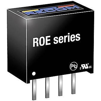RECOM ROE-1505S DC/DC omformer (trykk) 5 200 mA 1 W Nr. antall utganger: 1 x