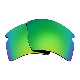 Polarized Replacement Lenses for Oakley Flak 2.0 XL Sunglass Anti-Scratch Green