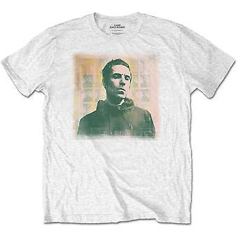 White Liam Gallagher Monochrome Official Tee T-Shirt Unisex