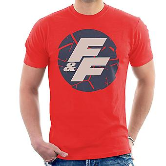Fast and Furious Shattered Logo Men's T-Shirt