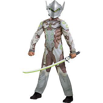 Boy's Genji Classic Costume - Overwatch