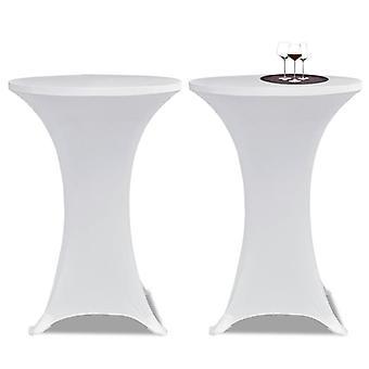 2 × الطاولة husse للوقوف الجدول Stretchhusse × 60 سم أبيض