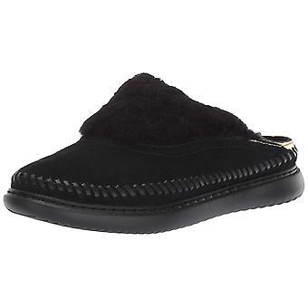 Cole Haan Womens 2.ZeroGrand Fur Closed Toe Slip On Slippers