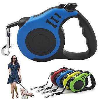 Psie vodítko zasúvateľné Automatické flexibilné odolné vodítko pre psov Cat Traction Rope Vodítko nástroj pre malého stredného psa 3/5M