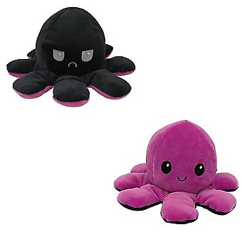 Soft Octopus Plush Animals, Double-sided Flip Doll Soft Reversible Cute Plush