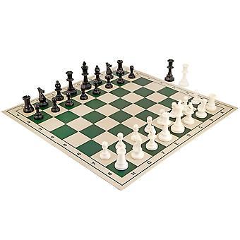 School toernooi vouwen Chess Set groen
