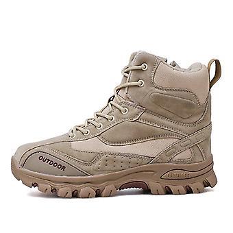 Taktische militärische Kampfstiefel, echtes Leder uns Armee, Winter Arbeit Schuhe Bot