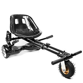 Hoverkart With Suspension For Hoverboard, Color Black, Adjustable For All Ages, Fits All Hoverboards 6.5 Inch, 8 Inch, 10 Inch