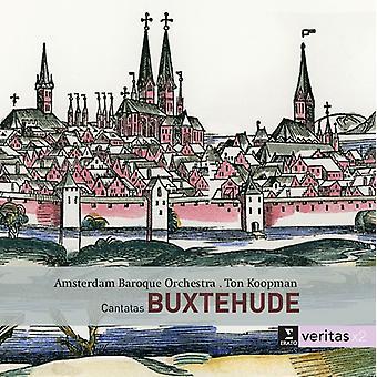 Buxtehude / Monteverdi / Koopman, Ton - Cantatas / Vespro Della Beata Vergine [CD] USA import