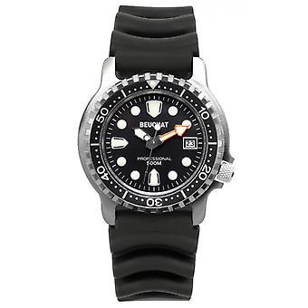 Men's watch BEUCHAT MONTRES BEU0515-1 - Black Silicone Bracelet