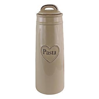 Heart Range Ceramic Pasta Jar