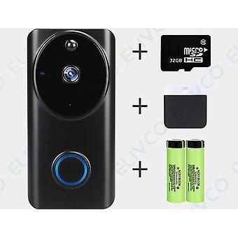 Alexa Google Assistant 1080p Smart Video Intercom  Door Bell Home Security Ip