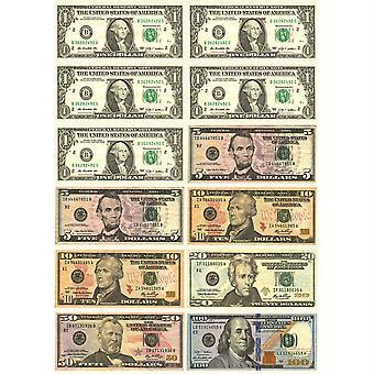 Math Die-Cut Magnets, Dollars américains