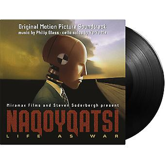 Glas, Philip / Yo-Yo Ma - Naqoyqatsi: Life As War [Vinyl] USA import