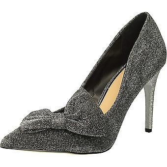Jewel Badgley Mischka Women's JOLANDA Shoe, prata, 7.5 Medium US