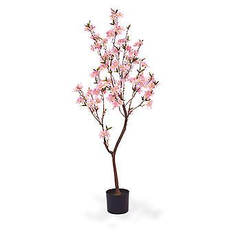 Sztuczne drzewo kwiatowe 150 cm różowe