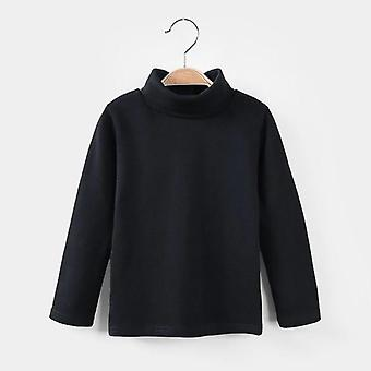 Syksy/ Talvi -t-paita O-kaula-aukko, Pitkähihainen Lämmin, Rento Collegepaita &