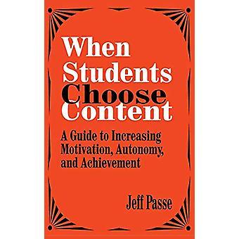 Kun opiskelijat valitsevat sisällön - opas motivaation lisäämiseen - Auto